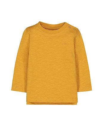 Mothercare Mustard Car T-Shirt