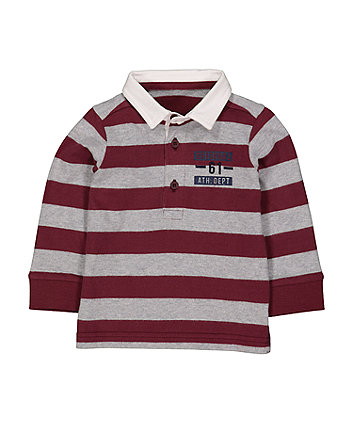 Mothercare Burgundy Rugby Top