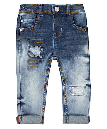 Mothercare Rip And Repair Jeans
