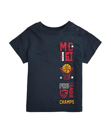 Navy Basketball T-Shirt