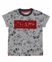 Grey Champ Animal T-Shirt