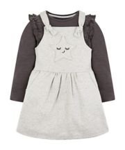 Grey Star Pinny Set