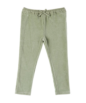Mothercare Khaki Ribbed Velour Trousers