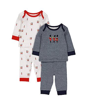 Soldier Pyjamas - 2 Pack