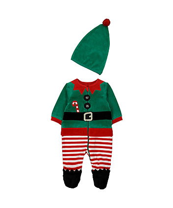 Elf All In One With Hat