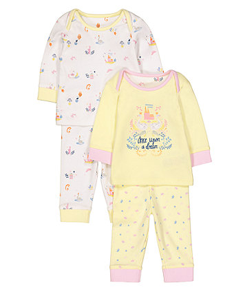 Once Upon A Dream Pyjamas - 2 Pack