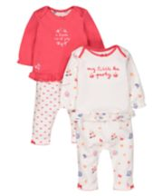 Tea Party Pyjamas - 2 Pack