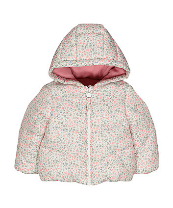 Mothercare Floral Padded Jacket