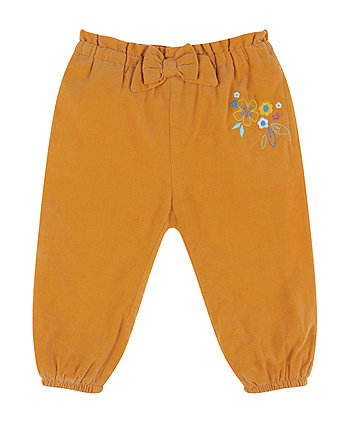 Mothercare Mustard Cord Trousers