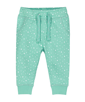Mothercare Green Spot Joggers