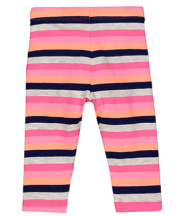 Multicoloured Stripe Leggings