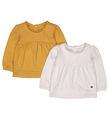 Pintuck T-Shirts - 2 Pack
