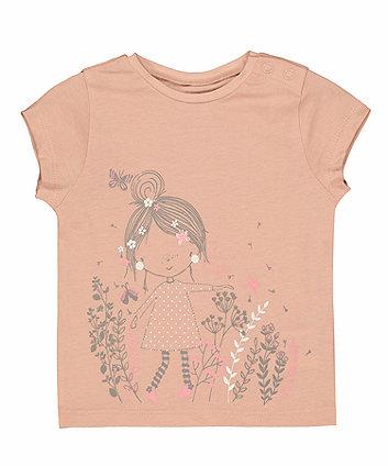 Pink Garden T-Shirt