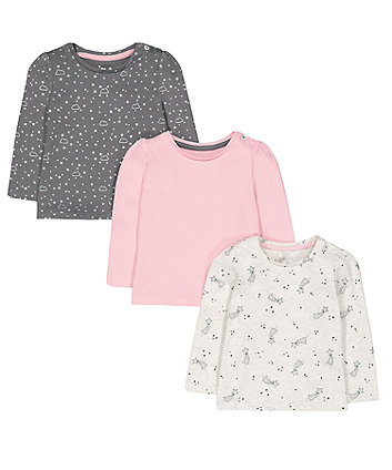 Mothercare Shooting Star T-Shirts - 3 Pack