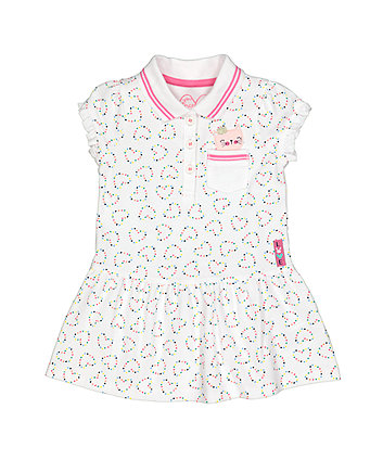 Mothercare White Polo Dress