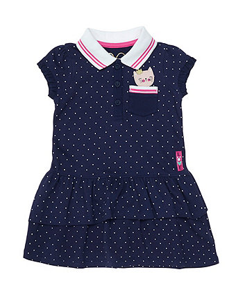 Mothercare Pink Polo Dress
