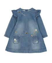 Lovely Bee Denim Dress