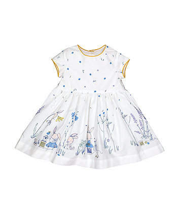 Mothercare Border Print Prom Dress