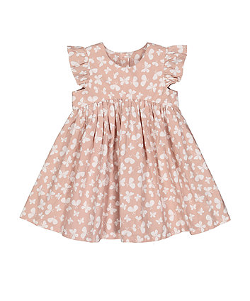 Mothercare Pink Butterfly Dress