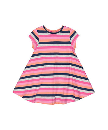 Mothercare Multicoloured Stripe Dress