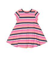 Multicoloured Stripe Dress