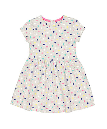 Mothercare Grey Spot Dress