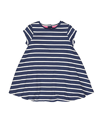Mothercare Navy Stripe Dress