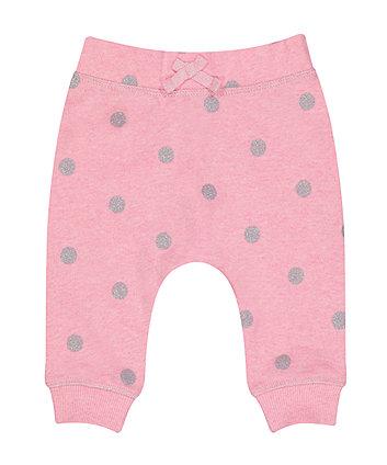 Pink Spot Joggers
