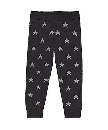 Star Knitted Leggings