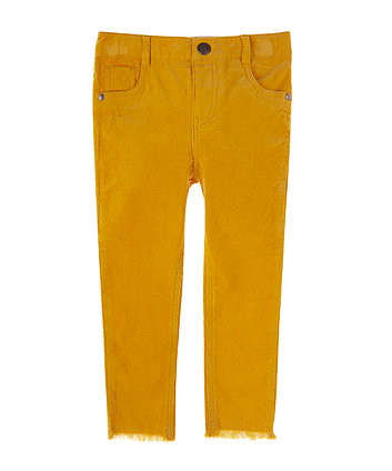 Mustard Cord Trousers