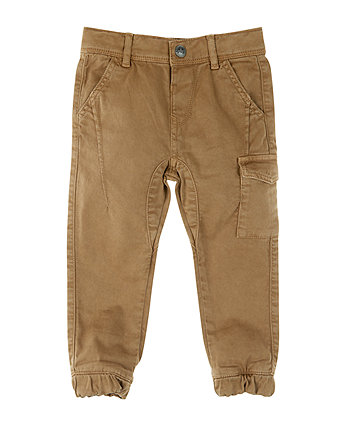 Mothercare Stone Woven Trousers
