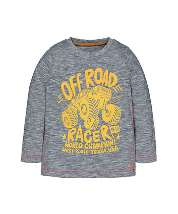 Mothercare Navy Off Road T-Shirt