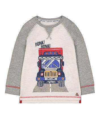 Mothercare Raglan Truck T-Shirt