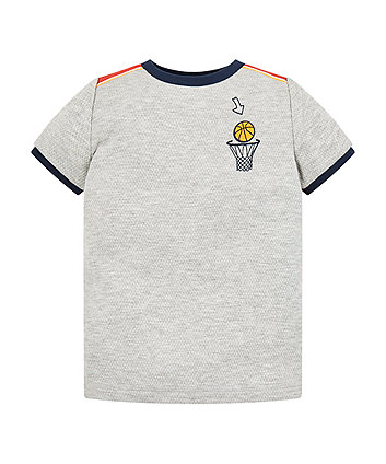 Mothercare Grey Goal Scorer T-Shirt