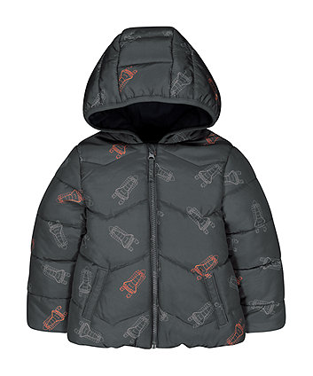Mothercare Rocket Fleece-Lined Jacket