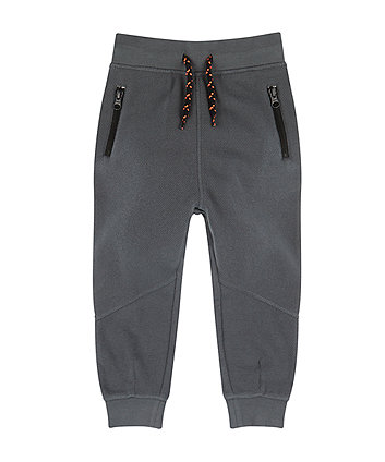 Mothercare Dark Grey Pique Joggers