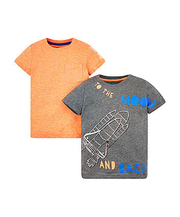 To The Moon And Back T-Shirts - 2 Pack