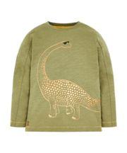 Khaki Dinosaur T-Shirt