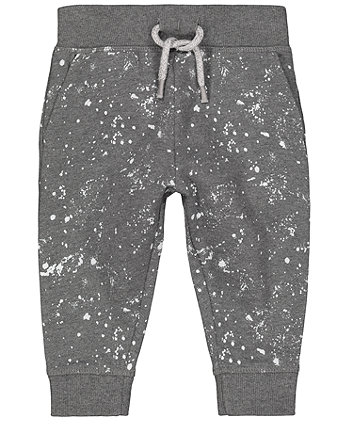 Mothercare Grey Paint Splat Joggers