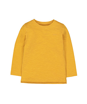 Mothercare Mustard Car T-Shirt