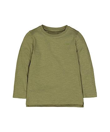 Mothercare Green Car T-Shirt