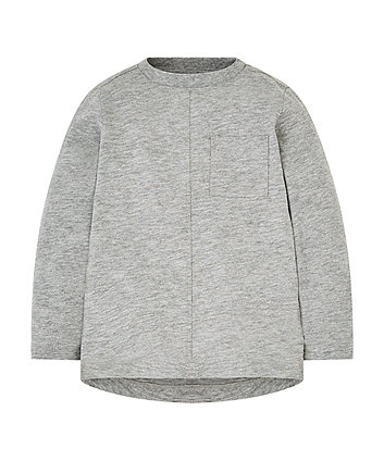 Mothercare Grey Pocket T-Shirt