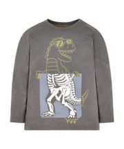 Grey Dinosaur T-Shirt