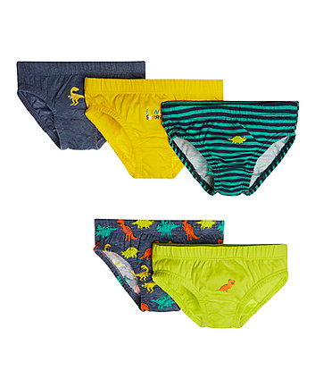 Mothercare Dinosaursaur Briefs - 5 Pack