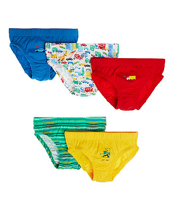 Mothercare Transport Briefs - 5 Pack