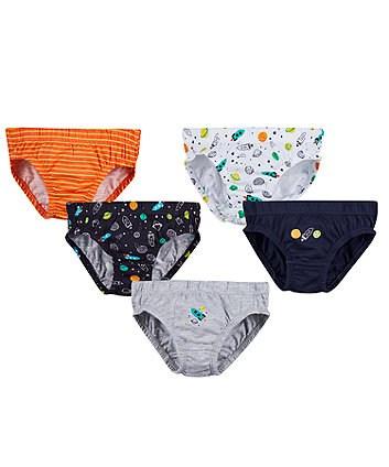 Mothercare Space Briefs - 5 Pack