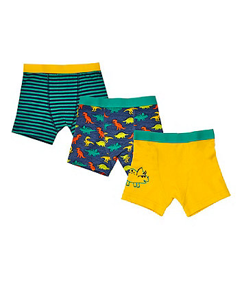 Mothercare Dinosaursaur Trunks - 3 Pack