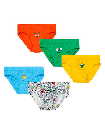 Mothercare Monster Briefs - 5 Pack
