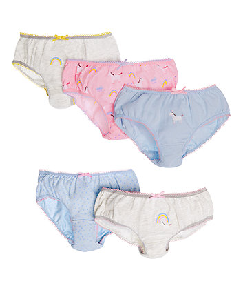 Unicorn Briefs - 5 Pack