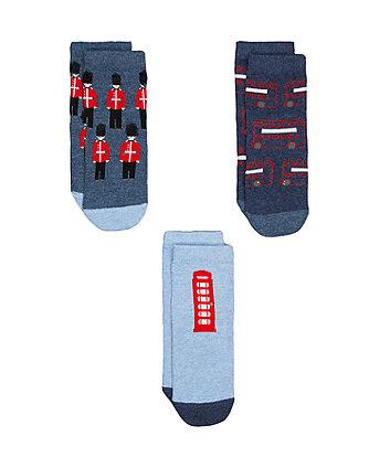 London Socks - 3 Pack